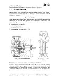 Turbopompe - Dispensa - Macchine