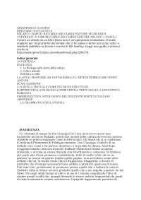 Breviario di Ecdotica - Gianfranco Contini