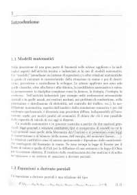 1. Introduzione ai modelli matematici