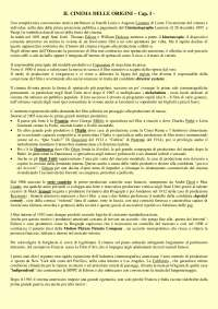Riassunto esame Storia Del Cinema della prof.ssa Pesce - Testo del corso: Bertetto