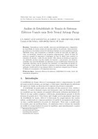Análise de Estabilidade de Tensão de Sistemas Elétricos Usando uma Rede Neural Artmap Fuzzy - Tese Lílian Yuli Isoda, Notas de estudo de Engenharia Elétrica
