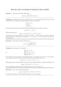 domini di funzioni a due variabili
