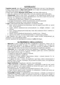 Esame di Glottologia. Testo del Corso elementare di linguistica generale di G. Berruto