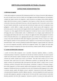 Appunti di Diritto della Navigazione - Rif: Lefebre