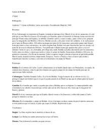 Cantar de Roldán - Literatura Medieval - Resumen.