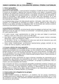 Cultura Grecolatina - Literatura Clásica - Apuntes - UNED - 2007-8 - Parte 1