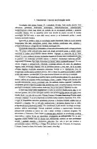 Sociologija Sela-Beleska-Sociologija 1.deo