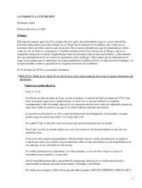 La Pasión y la Excepción, Beatriz Sarlo - Literatura Contemporánea - Resumen