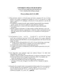 Esercizi risolti Siena