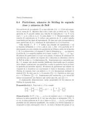 Permutaciones y particiones - Teoría combinatoria - Apuntes - Universidad del Zulia - Capítulo6 - Parte3