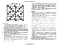 Crucinumero - Matematica recreativa - Ejercicios