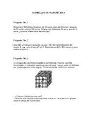 Olimpiada matematica 41 - Ejercicios - Universidad