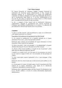 Derecho Urbanístico - Examen - Caso Práctico 5 - Universidad de Zaragoza