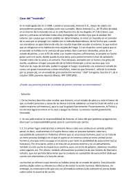 Derecho Penal II - Examen - Caso Práctico 4 - Universidad de Navarra