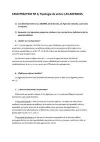 Derecho Administrativo I - Examen - Caso Práctico 4 - Universidad de Santiago de Compostela