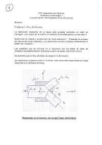 Coleccion problemas para entregar '10-'11 - Hidráulica e hidrología 1 - Practicas