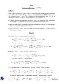 Hidrología - Hidráulica e hidrología 2 - Practicas, Apuntes de Hidráulica e hidrología 2