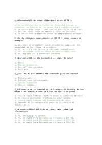 Exam de Construccion IV - Test 1 Resumen de preguntas - Universidad A Coruna