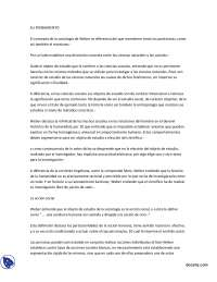 Weber - Teoría Sociológica I - Summary
