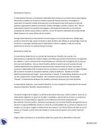 Materialismo histórico - Sociología Básica II - Summary