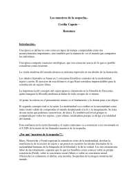 Los maestros de la sospecha - Sociología Básica - Summary