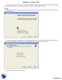 Installing NS2 on Windows Platform-Computer Networking-Lab Manual