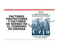 Riesgo consumo drogas- Sociología de la salud-Slides-Universidad Pontificia Bolivariana