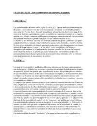 Postscriptum sobre las sociedades de control - Epistemología de las Ciencias Sociales - Summary