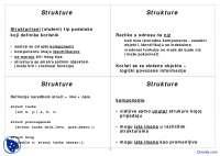 Programiranje 2-Skripta-Elektrotehnicki fakultet C_Strukture_Liste