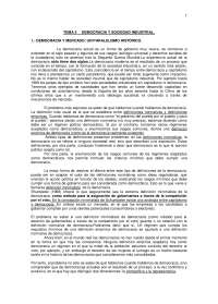 Democracia y sociedad industrial-Sociología Política-Study Notes-Universidad Pública de Navarra