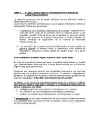 El neoliberalismo - Historia Política y Social Contemporánea-Study Notes-Universidad Pública de Navarra - Parte 1