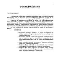 Sociolingüística - Sociología y Lingüística-StudyNotes-Universidad Pública de Navarra
