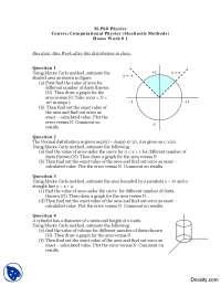 Monte Carlo Method-Computational Physics (Stochastic Methods)-Assignment
