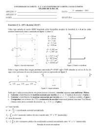 Exam de Estructuras metálicas y construccion mixta - Septiembre '10-'11 - Ejercicio 2 - Universidad A Coruña, Ejercicios de Estructuras metálicas y construccion mixta
