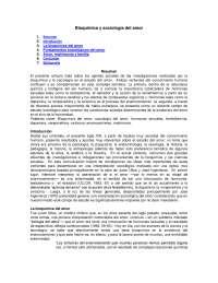 Bioquímica y sociología del amor- Sociología del género- Exercise- Universidad Autónoma del Estado de Hidalgo