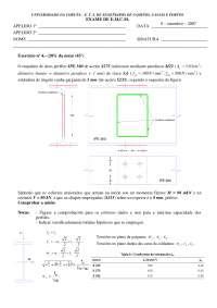 Exam de Estructuras metálicas y construccion mixta - Septiembre '06-'07 - Ejercicio 4 - Universidad A Coruña