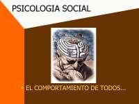Psicología Social - Tópicos de Sociología - Slides - Universidad de la Rioja