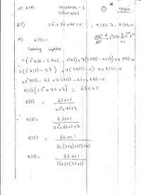 Non Linear Control Systems-October 2010-Exam Solution-Control Systems