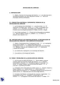 Apuntes de Sociología del derecho - Universidad de la Rioja