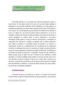 Hegel - Apuntes Teoría Sociológica I - Universidad de la Frontera