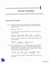 Cicuit Variables