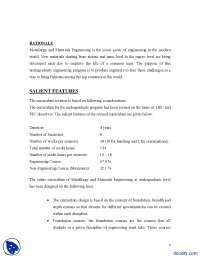 Course Outiline-Metallurgy and Materials Engineering-Handouts