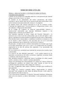 Derecho Mercantil III - Apuntes - Universidad Autónoma de Madrid - Parte 1