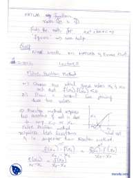 False Position Method-Numerical Methods-Lecture Notes