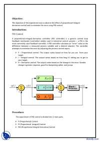PID Control of System-Linear Control Systems-Lab Report