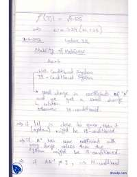 Stability of Matrices-Numerical Methods-Lecture Notes