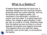 What Is A Battery-Wind Energy-Lecture Slides