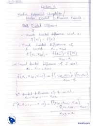 Newton Divided Difference Formula-Numerical Methods-Lecture Notes