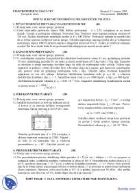 Elektricna merenja neelektricnih velicina-Ispit-Elektrotehnicki fakultet JAN05Z