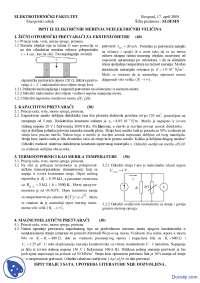 Elektricna merenja neelektricnih velicina-Ispit-Elektrotehnicki fakultet APR05Z